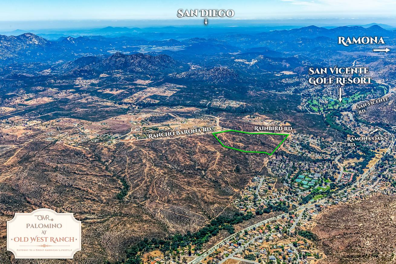 Old West Ranch CA Land For Sale