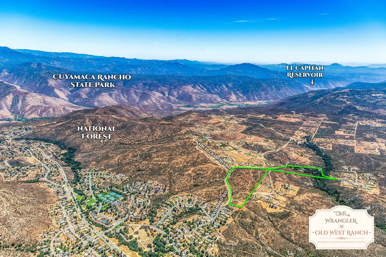 WrangleratOld West Ranch CA Land For Sale