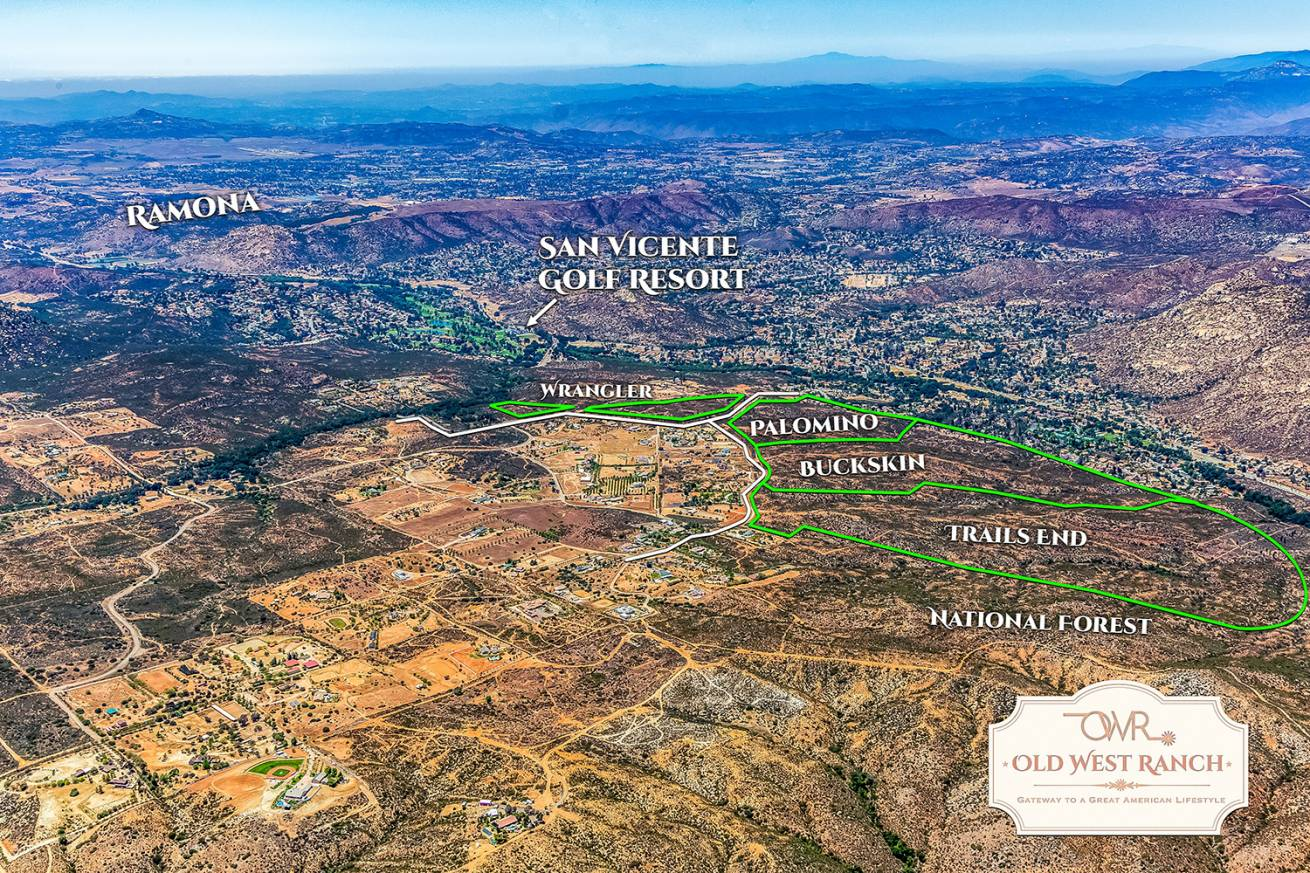 Old West Ranch CA Ranch For Sale
