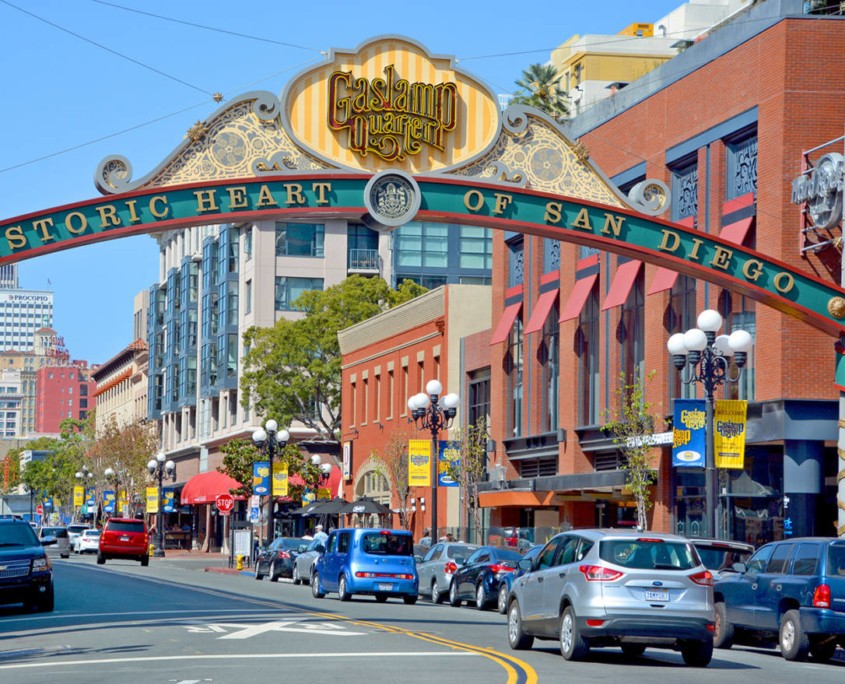 Gas Lamp District